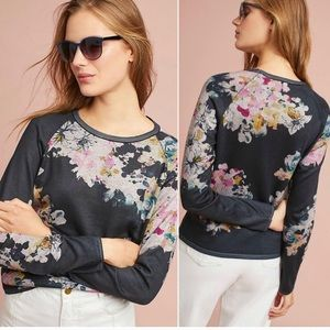 ANTHROPOLOGY Maeve Ramya Floral Pullover